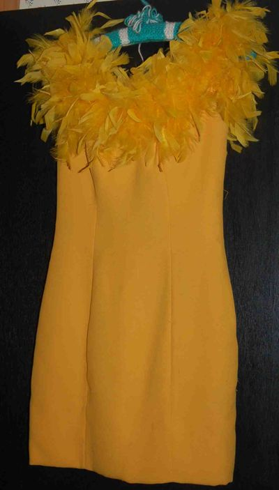 Yellowfeatherdress