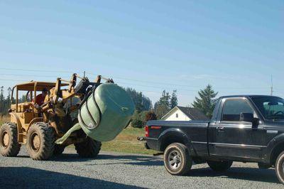 Tractorbaletruck