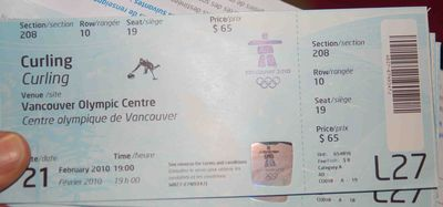 Curlingtickets